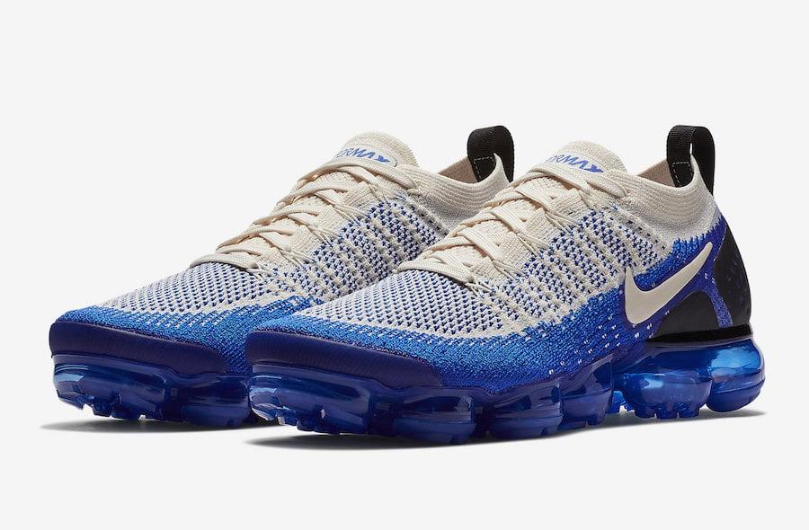 6b3d8448616 Nike Air VaporMax Flyknit 2 Racer Blue 942842-204