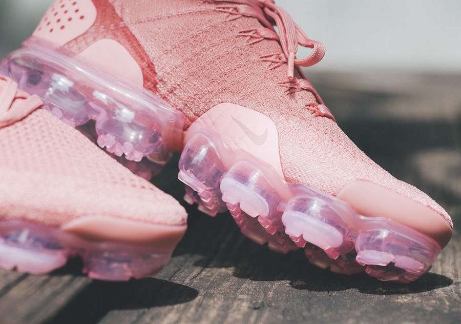 Nike Air VaporMax Flyknit 2 Rust Pink 942843-600