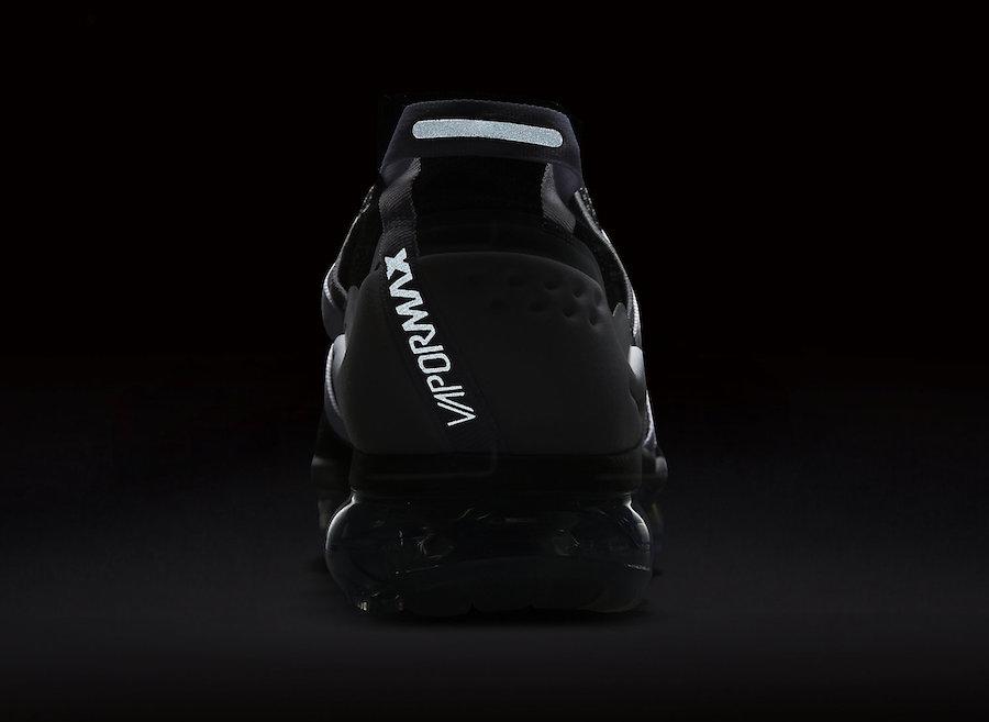 Nike Air VaporMax Flyknit Utility Black Grey AH6834-003 Release Date