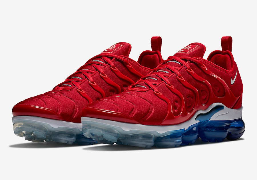 outlet store 6c73e 7f8d2 Nike Air VaporMax Plus USA Firecracker 924453-601 | SneakerFiles