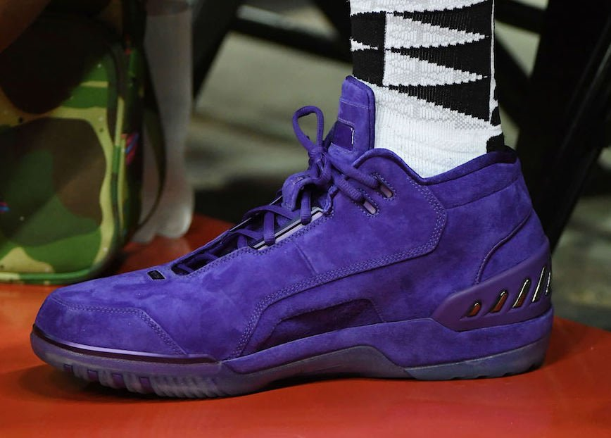 de3d081da7e Nike Air Zoom Generation Purple Suede PE