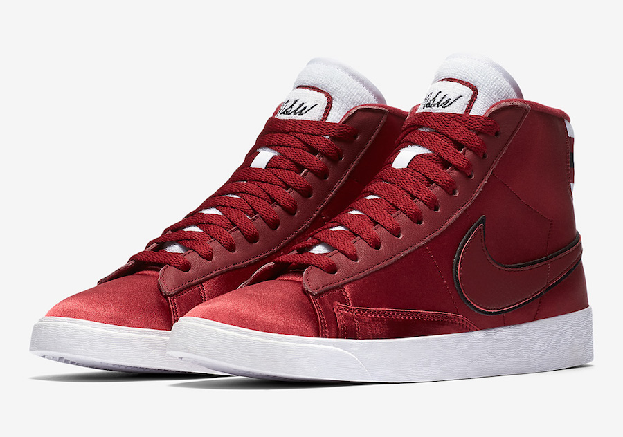 Nike Blazer Mid Satin Red Crush AV9375-605