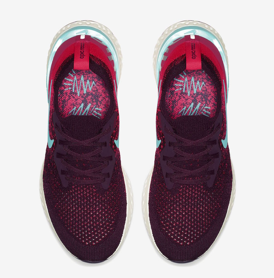 Nike Epic React Flyknit Bordeaux AR5518-600