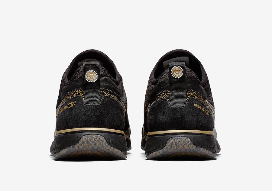 Nike FC CR7 Black Gold BV9985-007