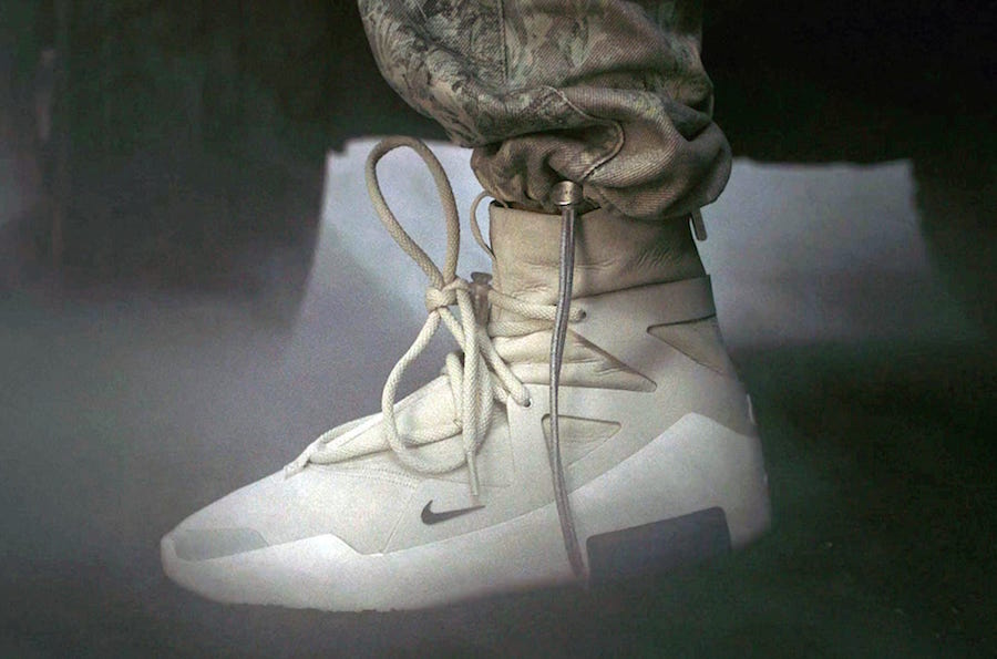 outlet store ab2da 11c7a Nike Fear of God Release Info