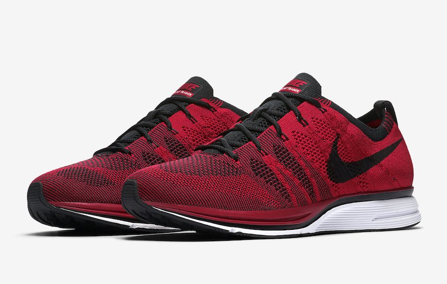 Nike Flyknit Trainer University Red AH8396-601