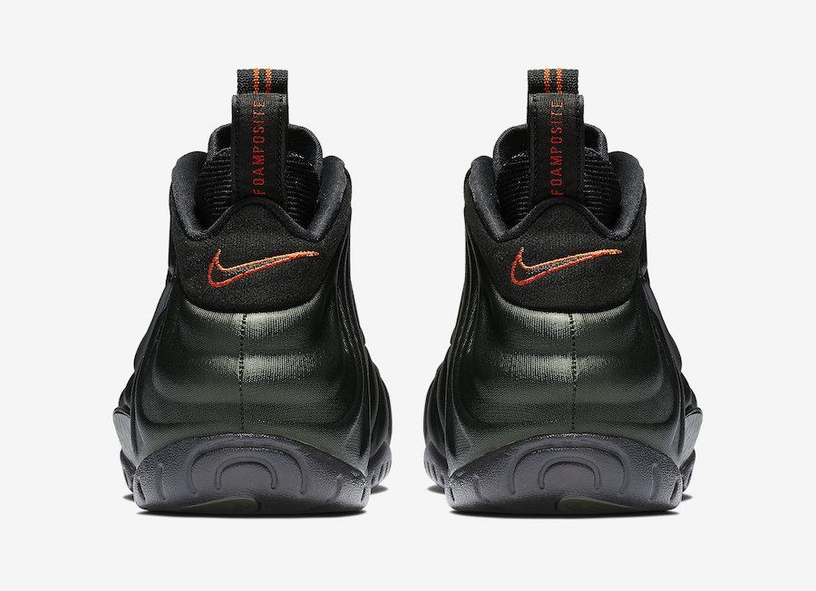 Nike Foamposite Pro Sequoia 624041-304 Release Date