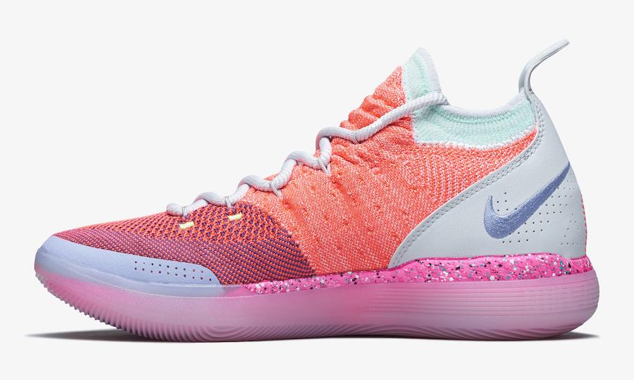 Nike KD 11 EYBL Peach Jam AO2604-600