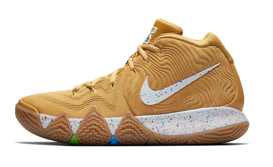 Nike Kyrie 4 Cinnamon Toast Crunch BV0426-900 Release Date Info
