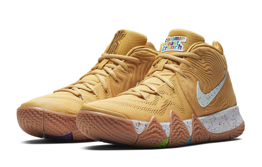 1c6f0db39d35 Nike Kyrie 4 Cinnamon Toast Crunch BV0426-900 Release Date Info