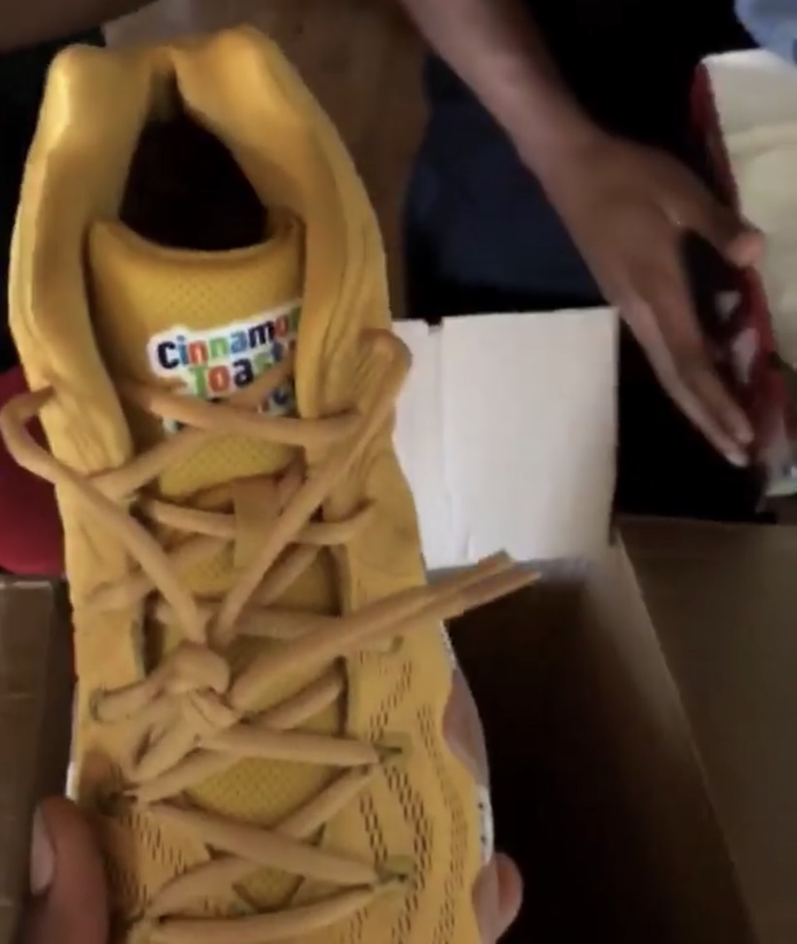 Nike Kyrie 4 Cinnamon Toast Crunch Cereal Pack