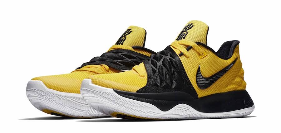 Nike Kyrie 4 Low Amarillo Yellow AO8979-700