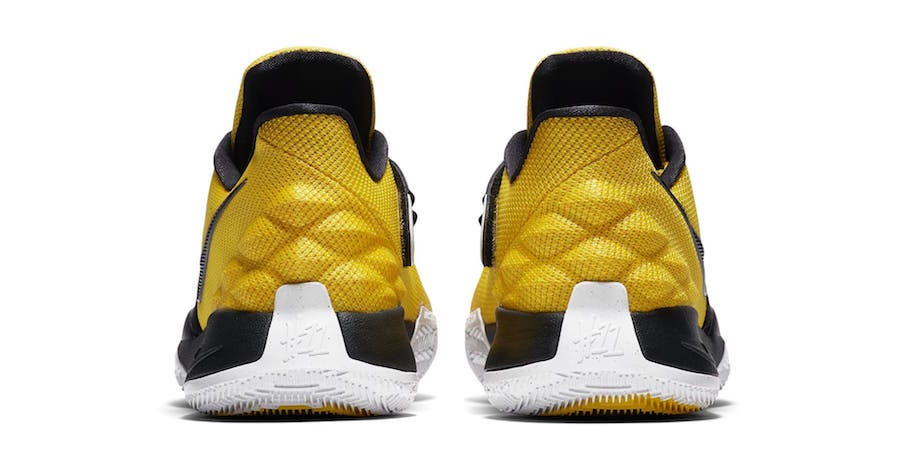official photos 71fbb 9af1b Nike Kyrie 4 Low Amarillo Yellow AO8979-700