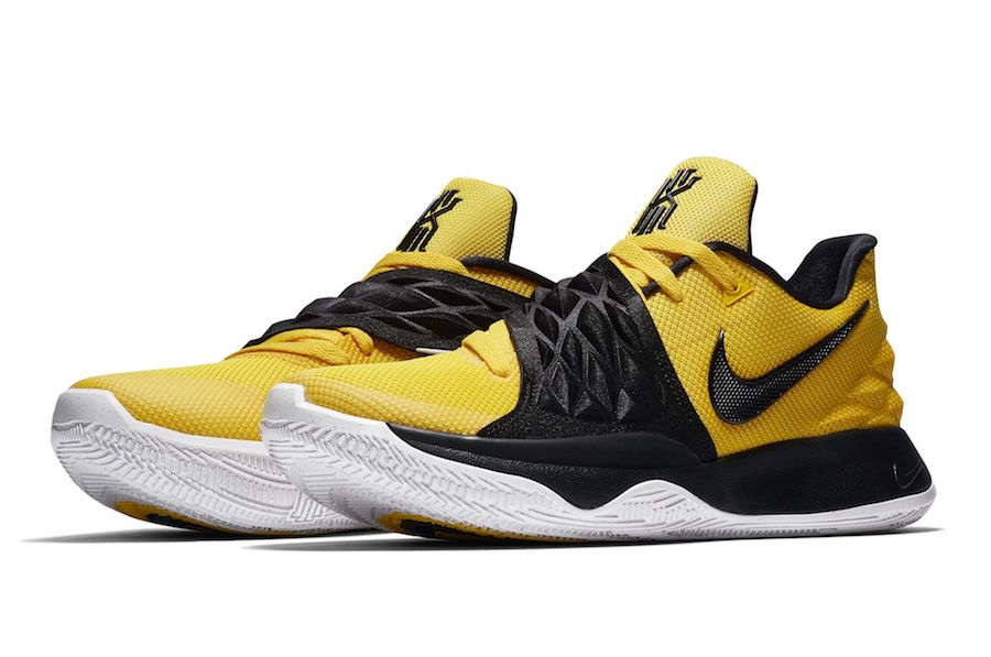 6c950e43f041b4 Nike Kyrie 4 Low Amarillo Yellow AO8979-700