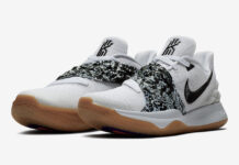Nike Kyrie 4 Low White Black Gum AO8979-100