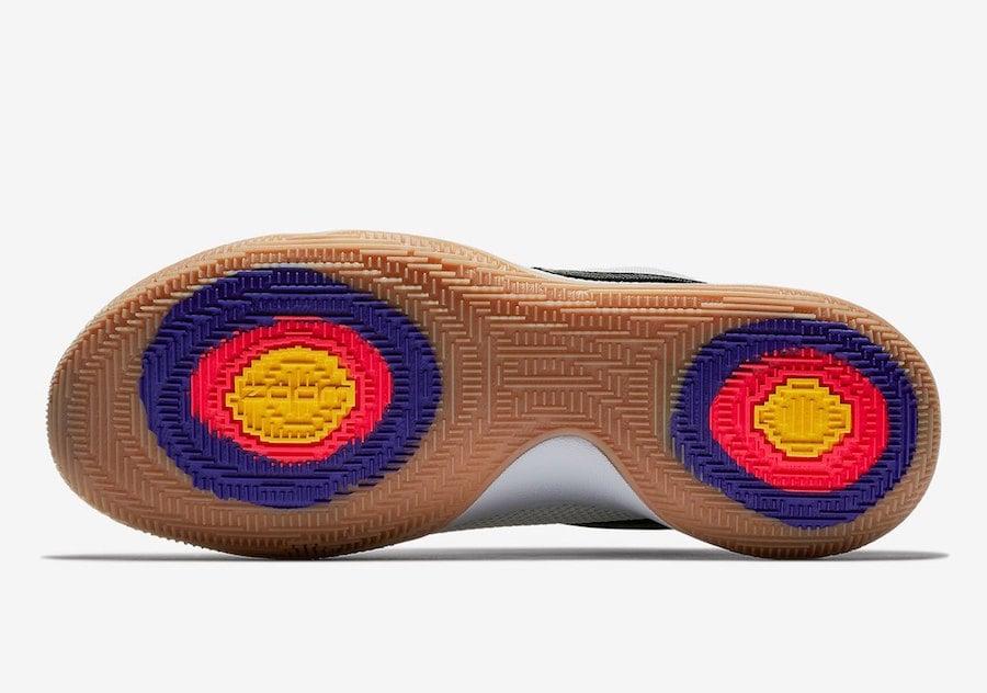 Nike Kyrie 4 Low White Black Gum AO8979-100