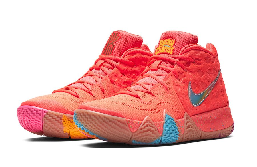 Nike Kyrie 4 Lucky Charms BV0428-600 Release Date Info