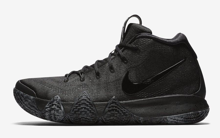 Nike Kyrie 4 Triple Black 943807-008