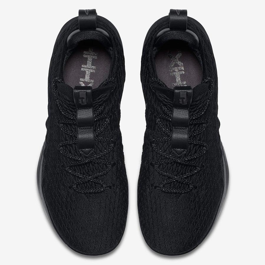 Nike LeBron 15 Low Triple Black AO1755-004