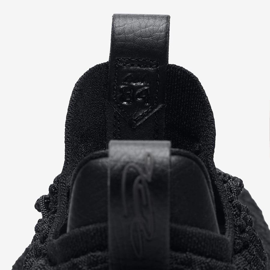 9f70f271ea7d3 Nike LeBron 15 Low Triple Black AO1755-004 Release Info