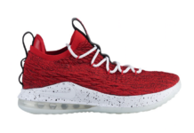 Nike LeBron 15 Low University Red AO1755-600
