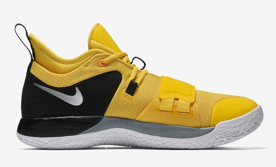 Nike PG 2.5 Yellow Black BQ8452-700