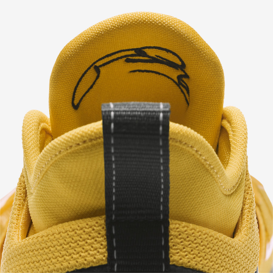 Nike PG 2.5 Yellow Black BQ8452-700
