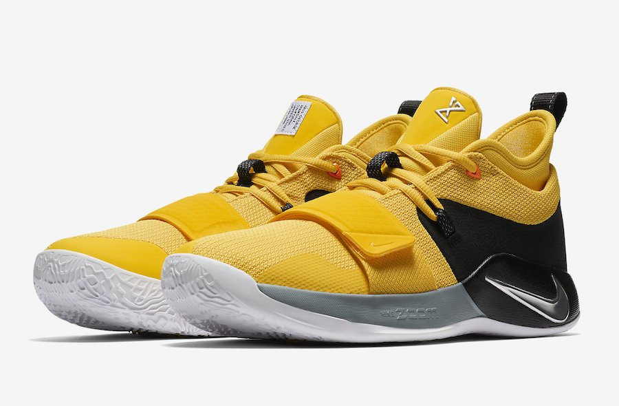new concept 01208 29c79 Nike PG 2.5 Yellow Black BQ8452-700 Release Details ...