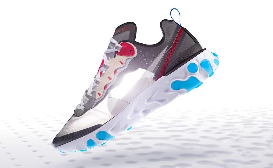 Nike React Element 87 Dark Grey AQ1090-003 Release Date