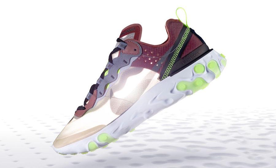 Nike React Element 87 Desert Sand AQ1090-002 Release Date