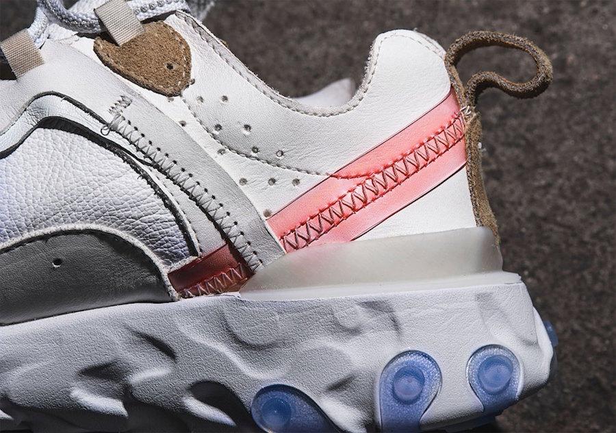 Nike React Element 87 Leather Custom