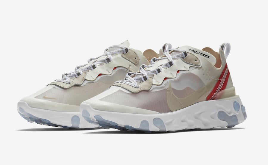 ec33a5aa61727 Nike React Element 87 Sail White AQ1090-100