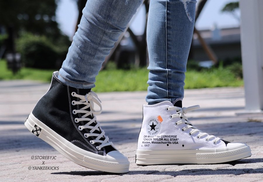 85433281af04 Off-White x Converse Chuck Taylor Black White