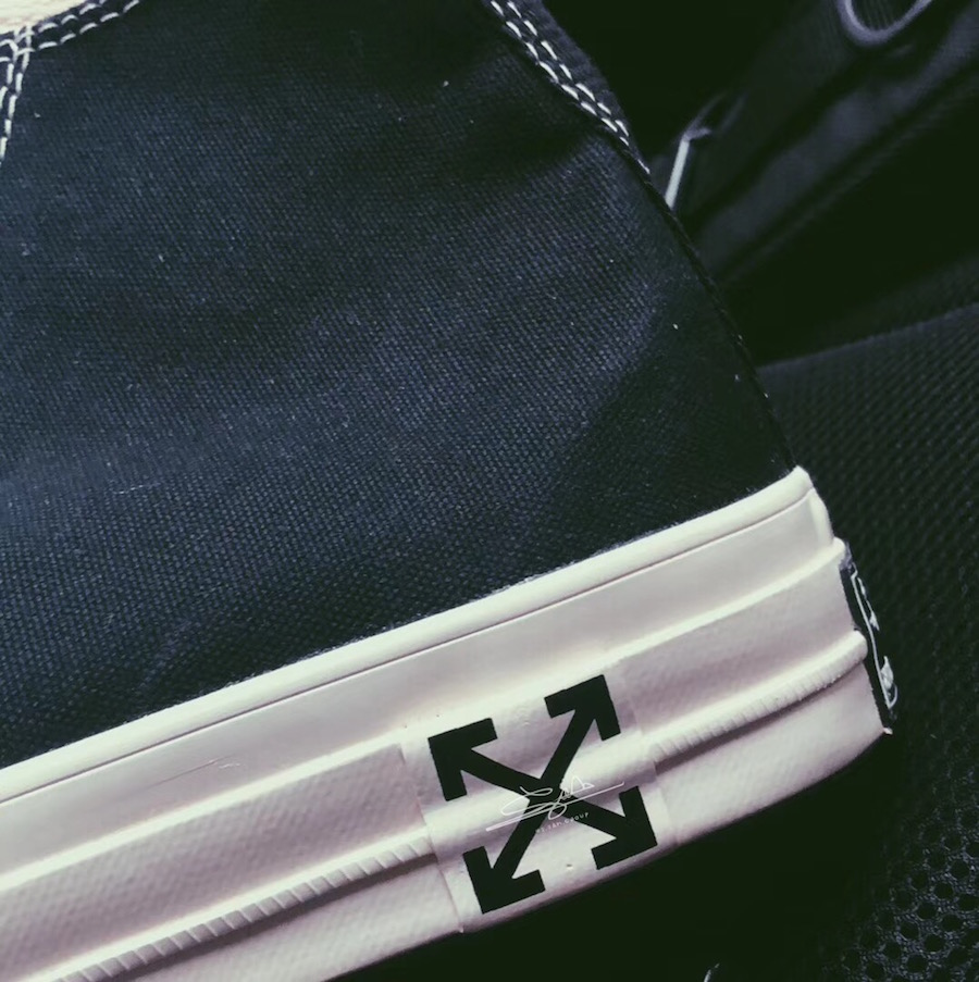 Off-White Converse Chuck Taylor Black