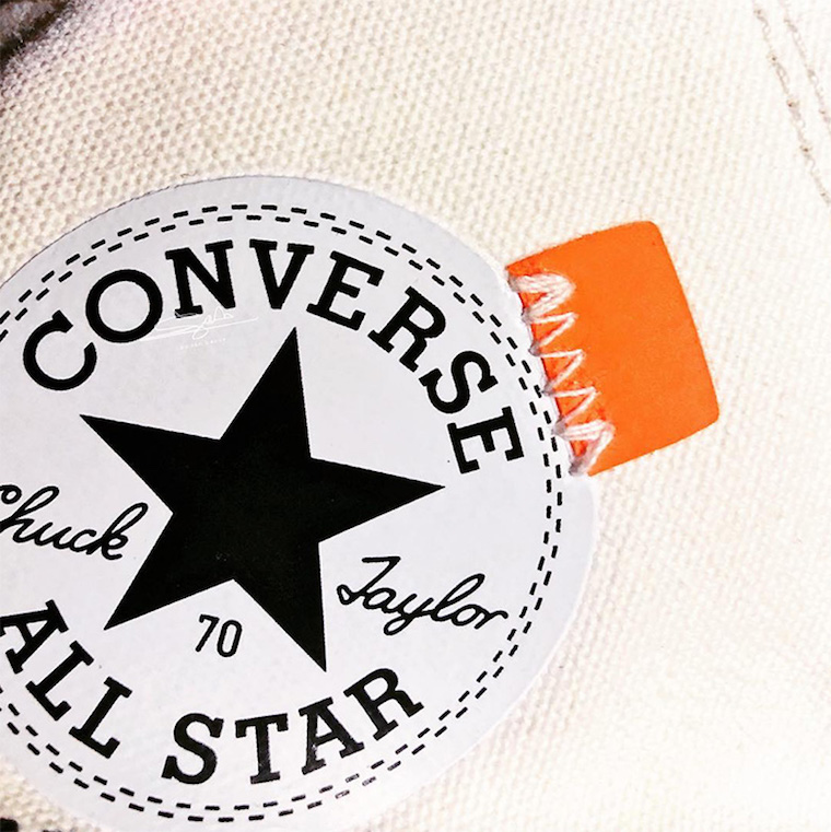Off-White Converse Chuck Taylor White