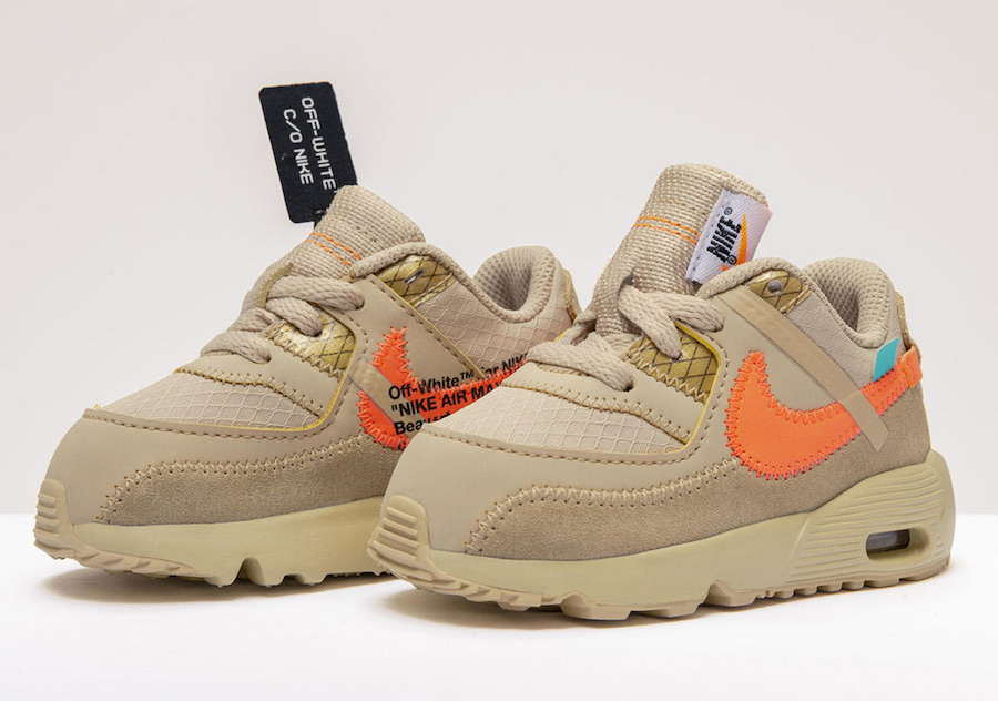 Off-White Nike Air Max 90 Kids Toddler Release Date