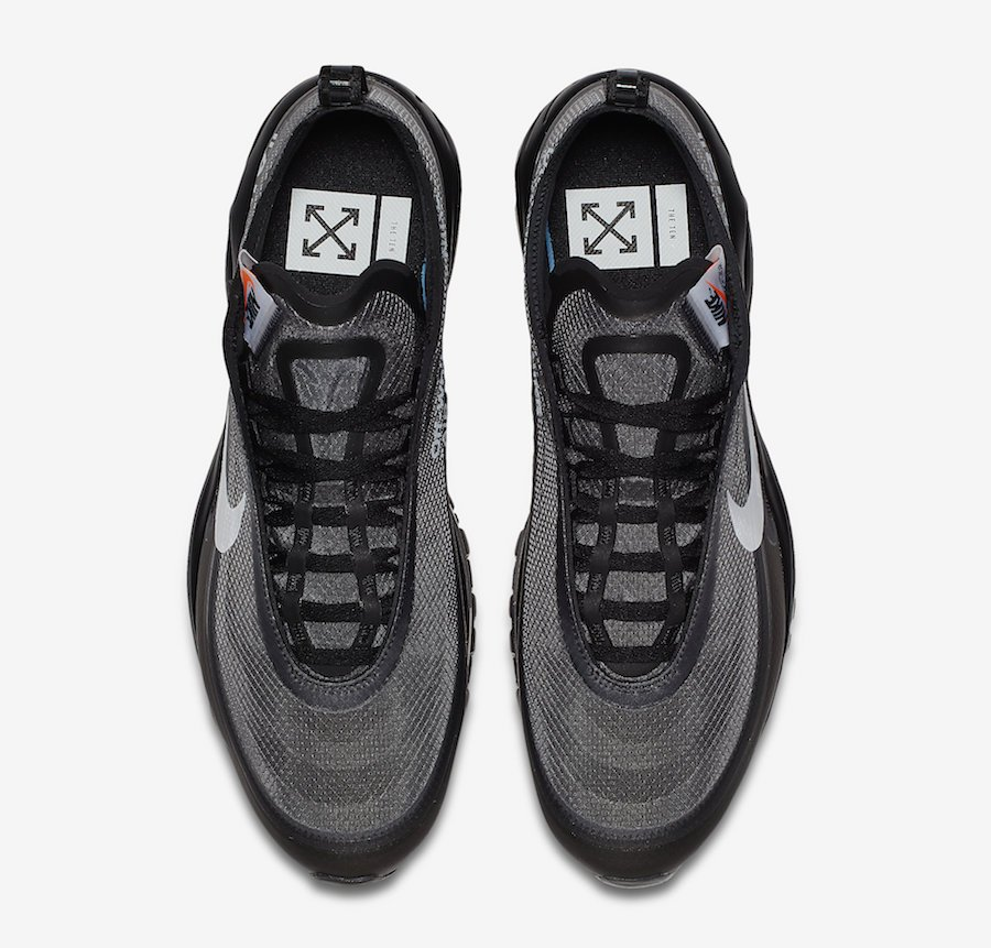 Off-White Nike Air Max 97 Black 2018 AJ4585-001