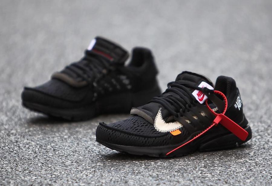 54553ac81a54 Off-White Nike Presto Black AA3830-002