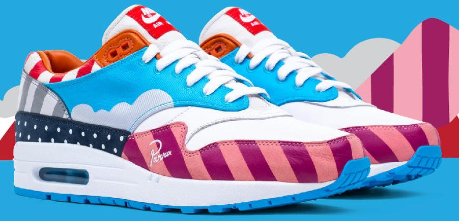 Parra Nike Air Max 1 Friends Family