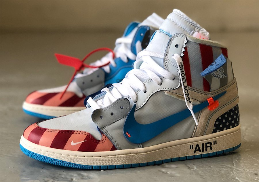 Parra x Off-White x Air Jordan 1 Custom