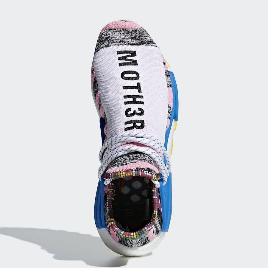 Pharrell adidas NMD Hu MOTH3R Solar Pack
