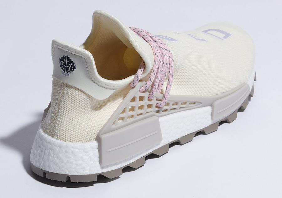 Pharrell adidas NMD Hu NERD Cream Pink EE8102