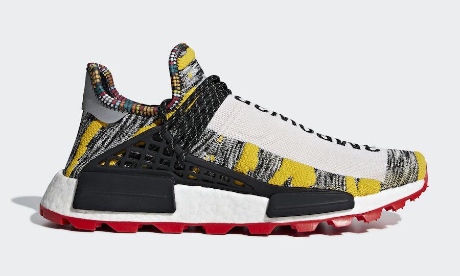 Pharrell adidas NMD Hu Trail Solar Pack BB9527