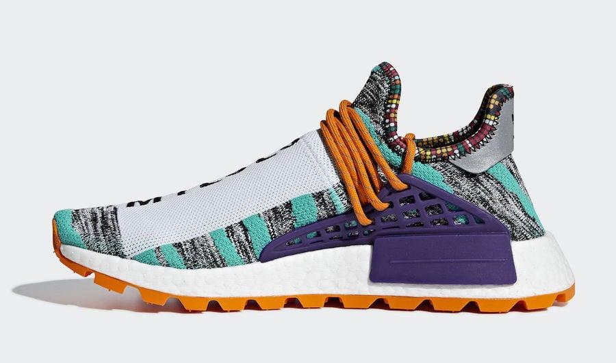 Pharrell adidas NMD Hu Trail Solar Pack BB9528