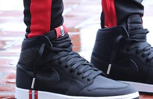 PSG Air Jordan 1 On Feet
