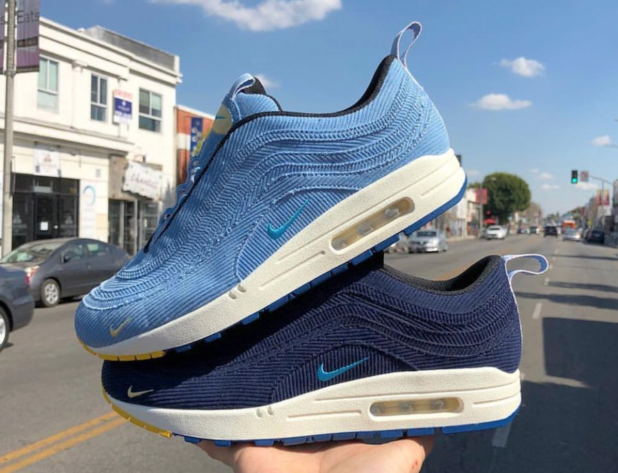 Sean Wotherspoon Nike Air Max 1/97 Sample Pack