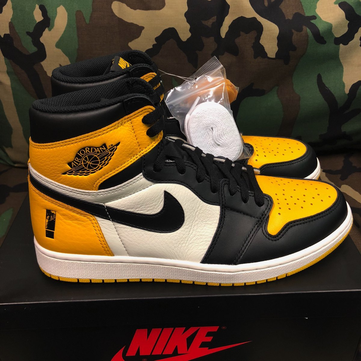 Shinedown Air Jordan 1 Attention Attention