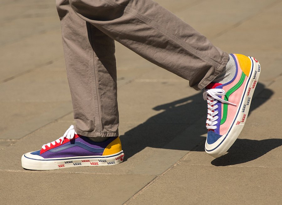 size Vans Style 36 Patchwork Release Date