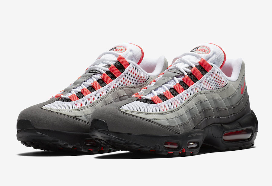 c6365125bf Nike Air Max 95 Solar Red AT2865-100 Release Date | SneakerFiles