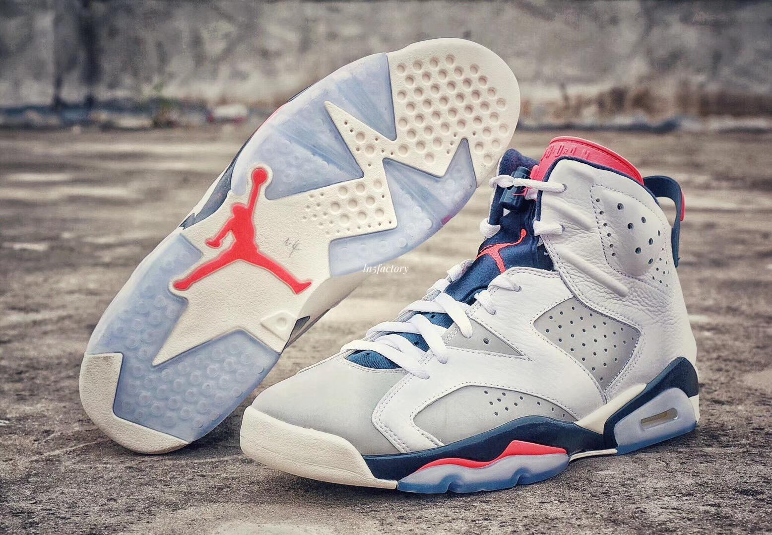 3e37f15d1be9 Air Jordan 6 Tinker 384664-104 Release Date